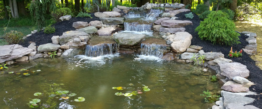 Gaithersburg Md Waterfall Pond Redo Damascus Enterprises